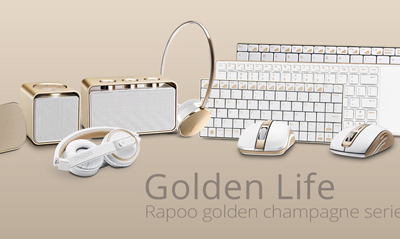 Rapoo launches the Wireless Peripherals Gold Series